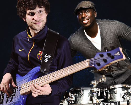 Snarky Puppy Rhythm Section - Michael League und Larnell Lewis